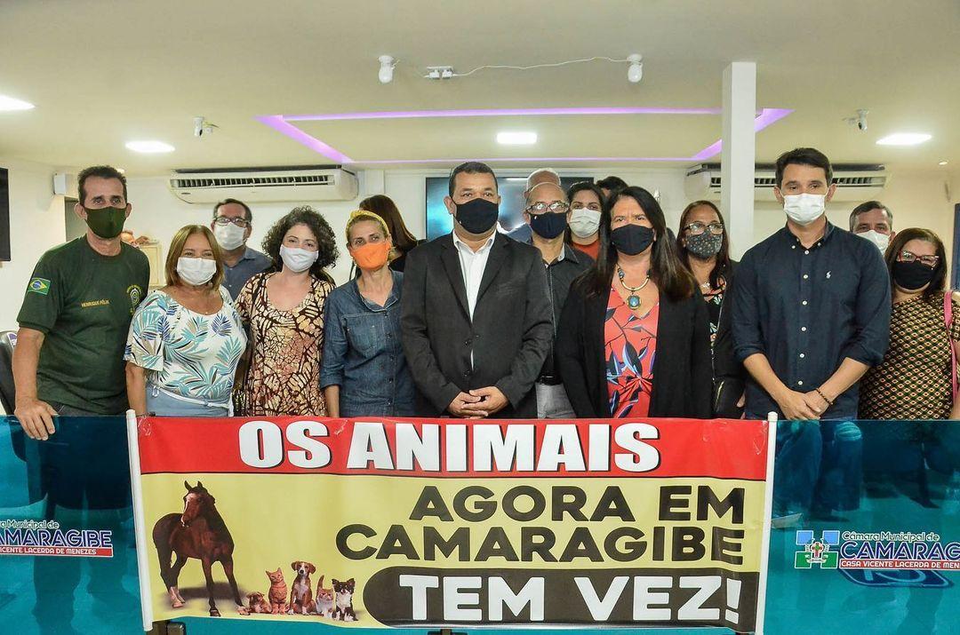 Câmara Municipal de Camaragibe realiza audiência pública em defesa da causa animal para discutir questões da área