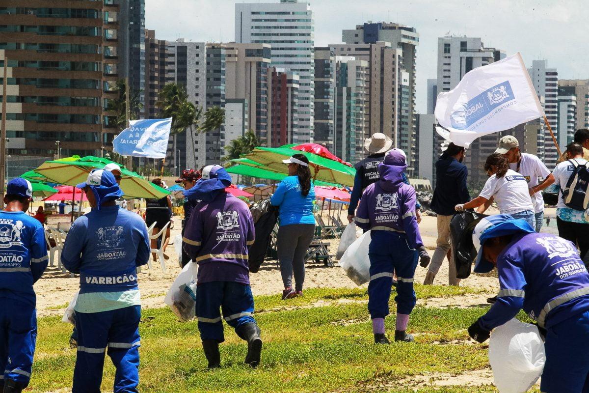 Prefeitura de Jaboatão vai realizar um mutirão neste sábado (18) para o Dia Mundial de Limpeza de Praias e Rios