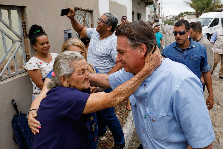 No Nordeste, Bolsonaro inicia série de viagens pelo país para comemorar mil dias de governo