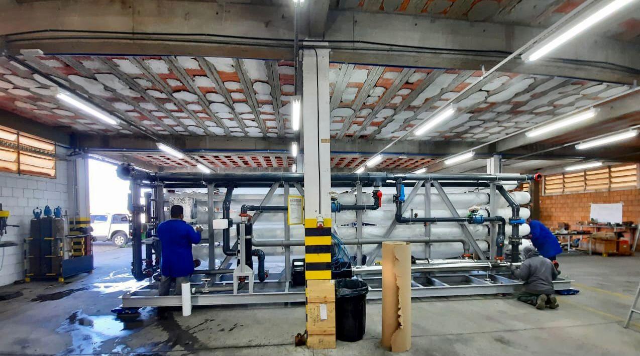 Em Fernando de Noronha, novo sistema de dessalinização proporciona fim do rodízio na distribuição de água em 30% da ilha