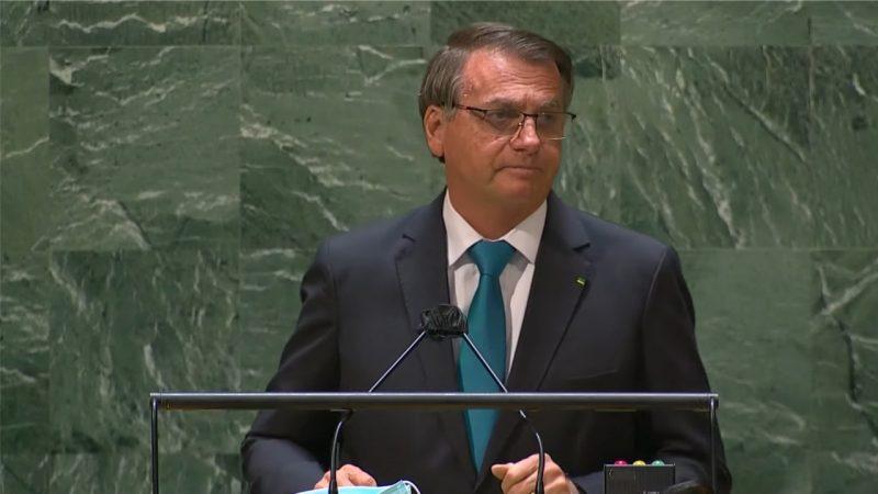 Bolsonaro defende tratamento precoce contra Covid-19 durante discurso de abertura da Assembleia Geral das Nações Unidas