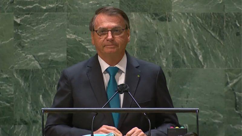 'O Brasil tem um presidente que acredita em Deus, respeita a Constituição e seus militares, valoriza a família e deve lealdade a seu povo', diz Bolsonaro na ONU