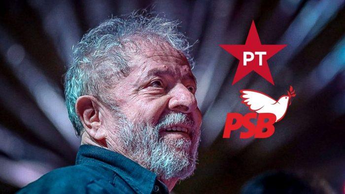 PT quer apoio oficial do PSB a Lula em 2022 para o fortalecimento do palanque nacional do partido