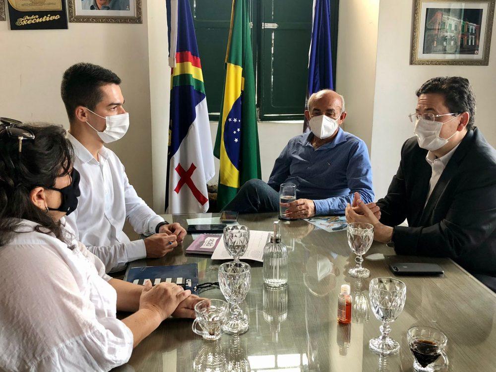 Prefeitura de Goiana e Fundaj firmam protocolo para elaboração de termo de cooperação para atender demandas do município