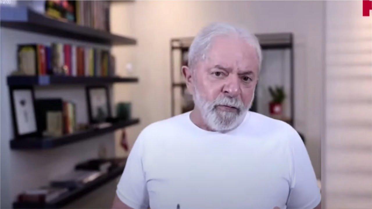 """Lula reconhece que PT """"não presta em algumas coisas�; afirmação aconteceu durante live do partido"""