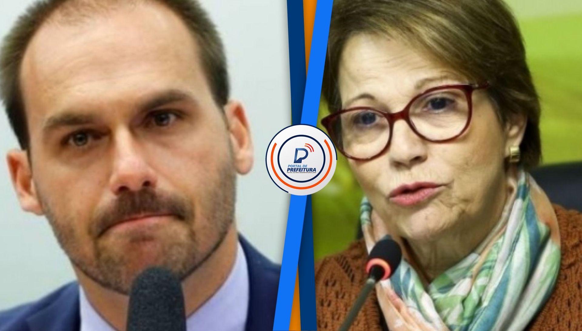 Eduardo Bolsonaro e ministra Tereza Cristina são diagnosticados com covid-19