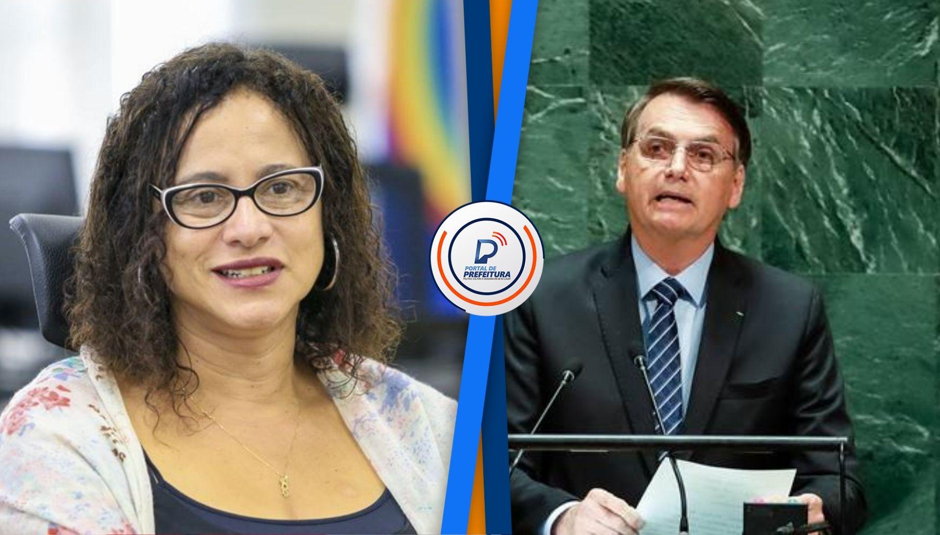 """Luciana Santos sobre discurso de Bolsonaro na ONU: """"um desserviço imensurável para a imagem e a economia do Brasil�"""