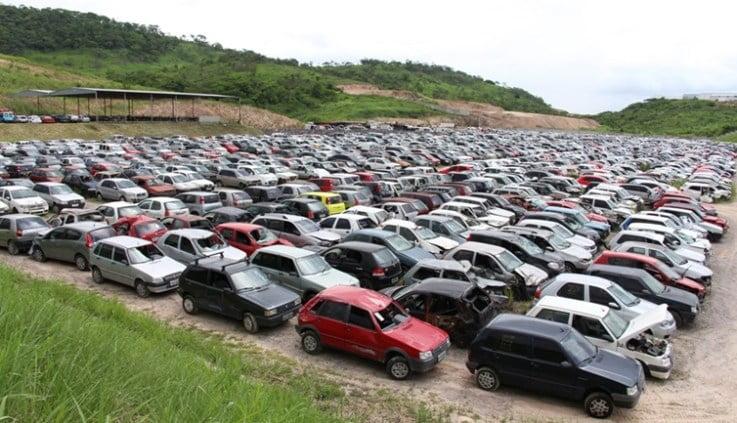 Detran-PE realiza leilão com 287 veículos entre carros e motos e lance mínimo de R$ 100; saiba como participar