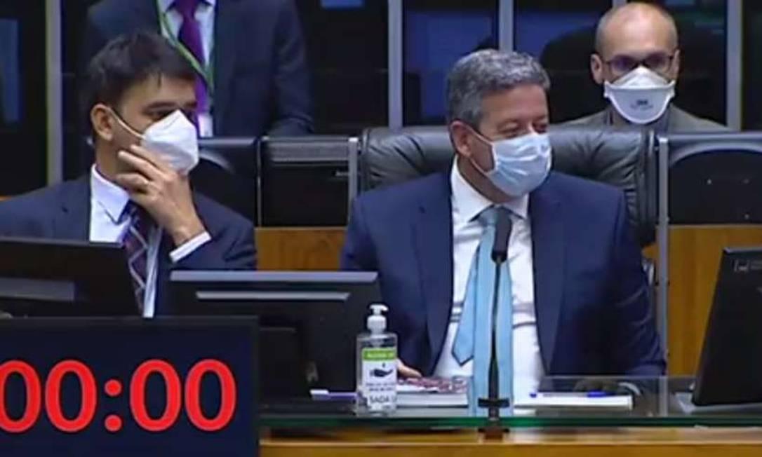 Vídeo: 'Filho da p…', diz deputado ao xingar Arthur Lira sem perceber microfone aberto durante sessão na Câmara