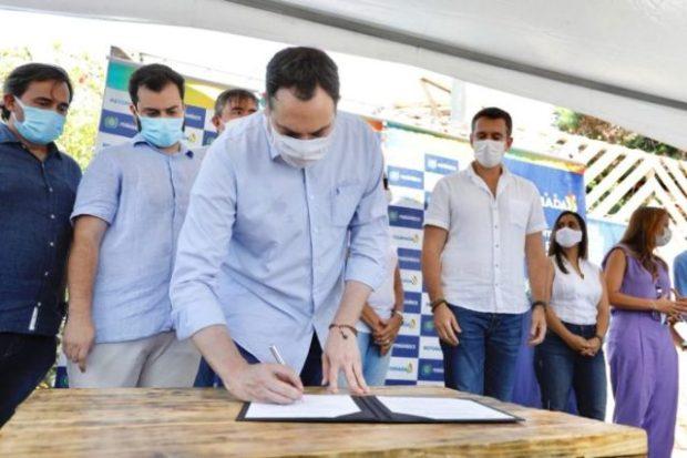 Paulo Câmara investe R$ 31 milhões em Fernando de Noronha, dentro do Plano Retomada