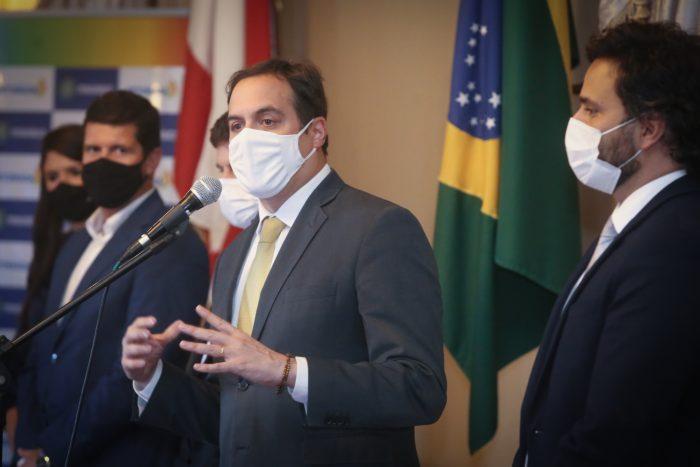 Governador Paulo Câmara anuncia a maior malha de voos da Azul em Pernambuco e região Nordeste para temporada de verão