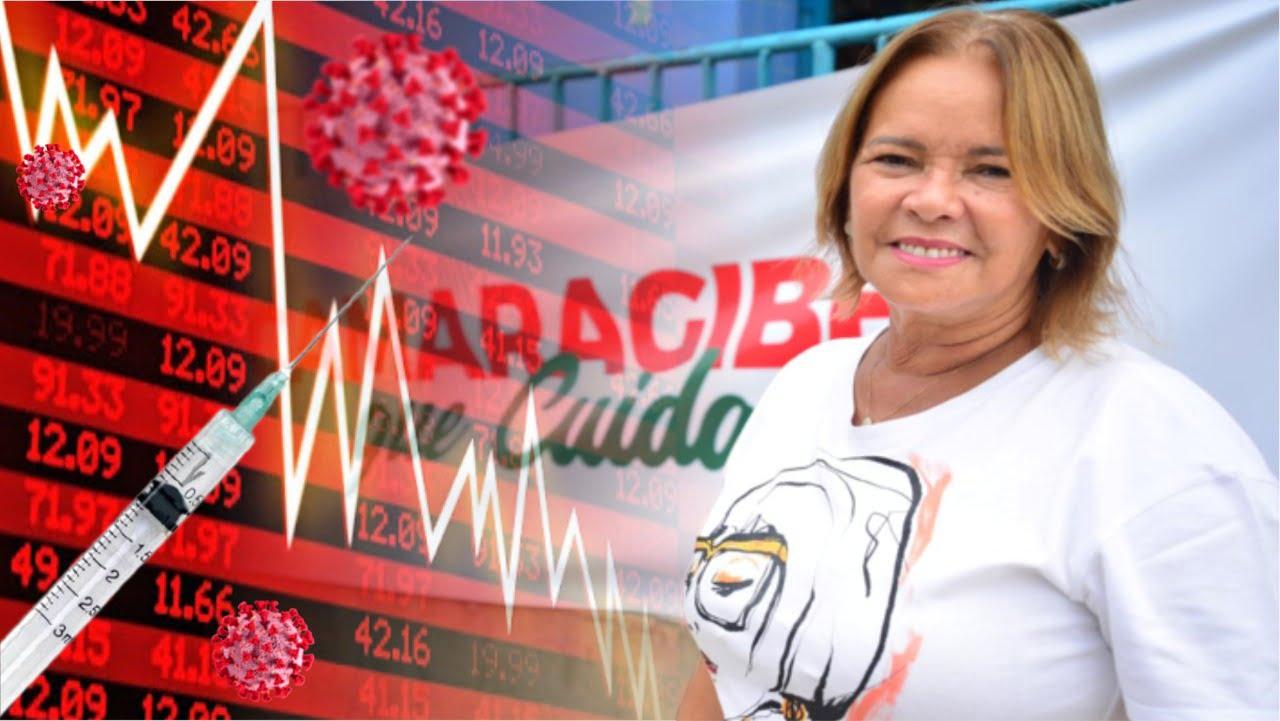 Nadegi Queiroz, prefeita da cidade de Camaragibe.