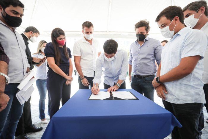 João Campos assina ordem de serviço para revitalização da Pracinha de Boa Viagem