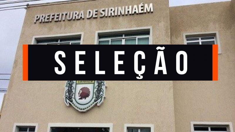 Prefeitura de Sirinhaém abre seleção simplificada com 353 vagas e salários de até R$ 2,8 mil; saiba como se candidatar
