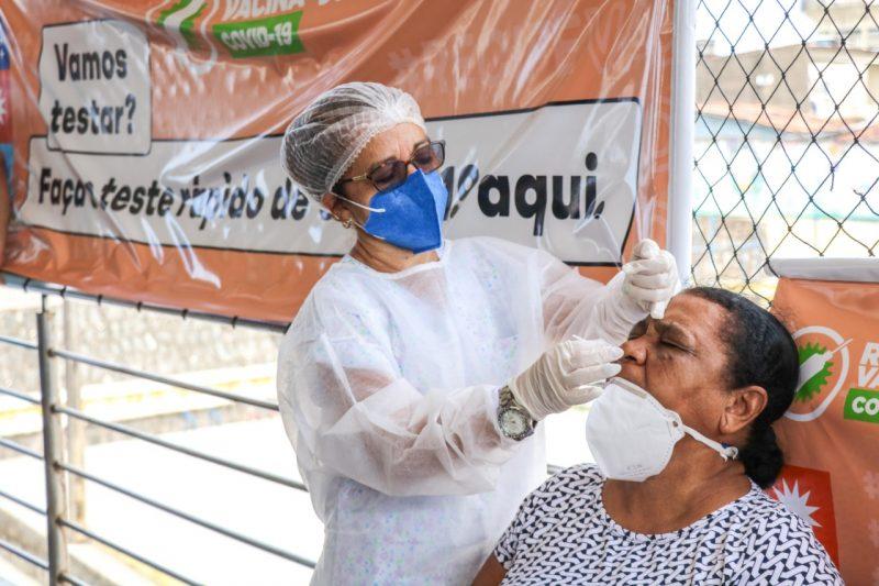 Prefeitura do Recife promove ações de testagem contra a Covid-19; confira os bairros que serão beneficiados nesta semana