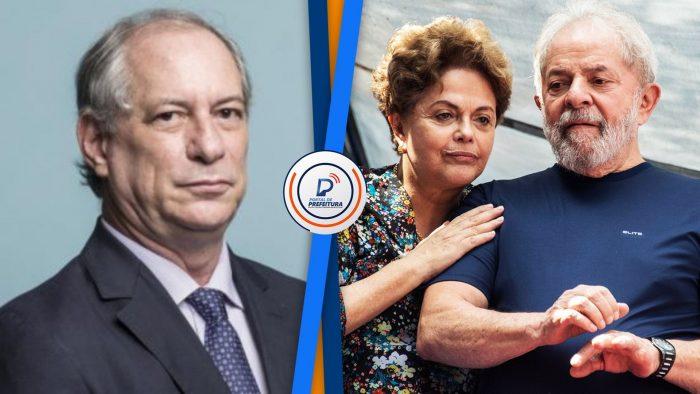 """Ciro Gomes: """"Hoje eu estou seguro que o Lula conspirou pelo impeachment da Dilma"""""""