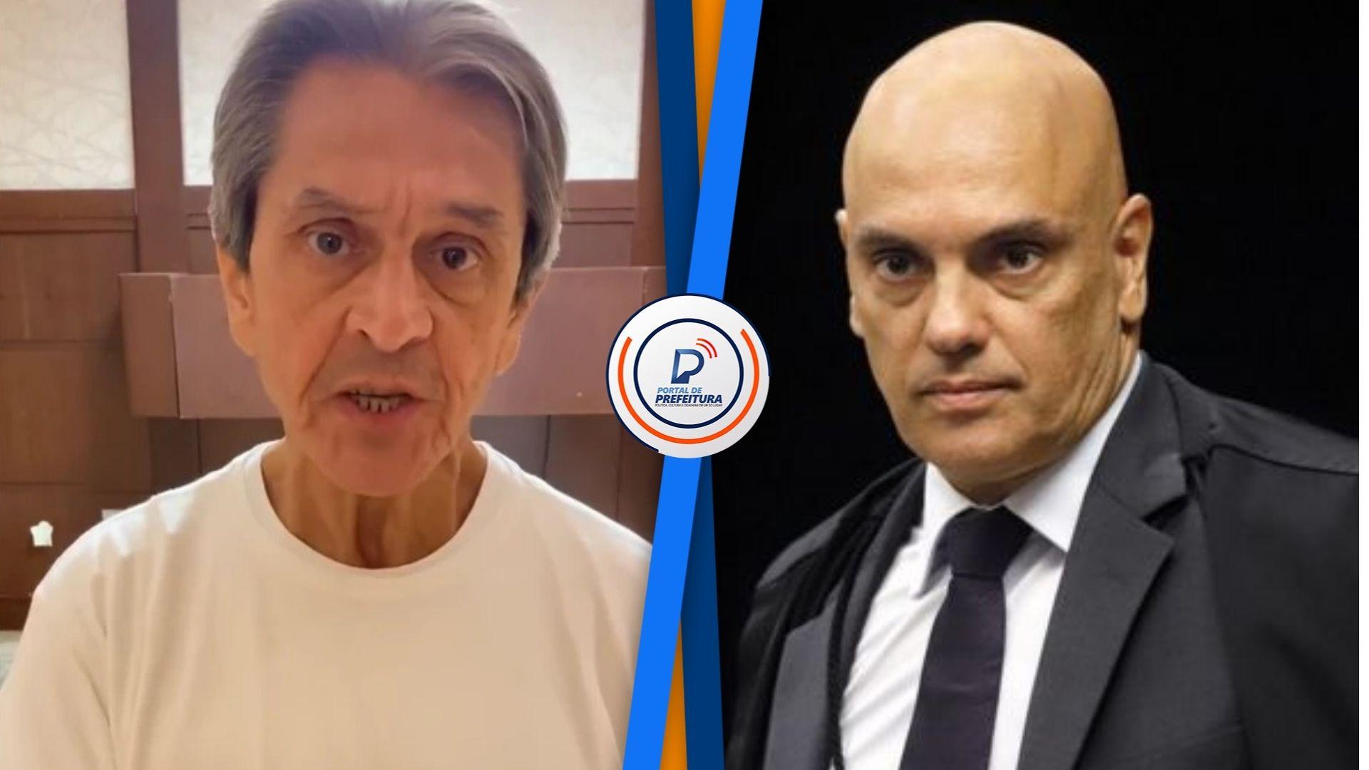 """Em vídeo, Roberto Jefferson sobre Alexandre de Moraes: """"Oro em desfavor do Xandão�"""
