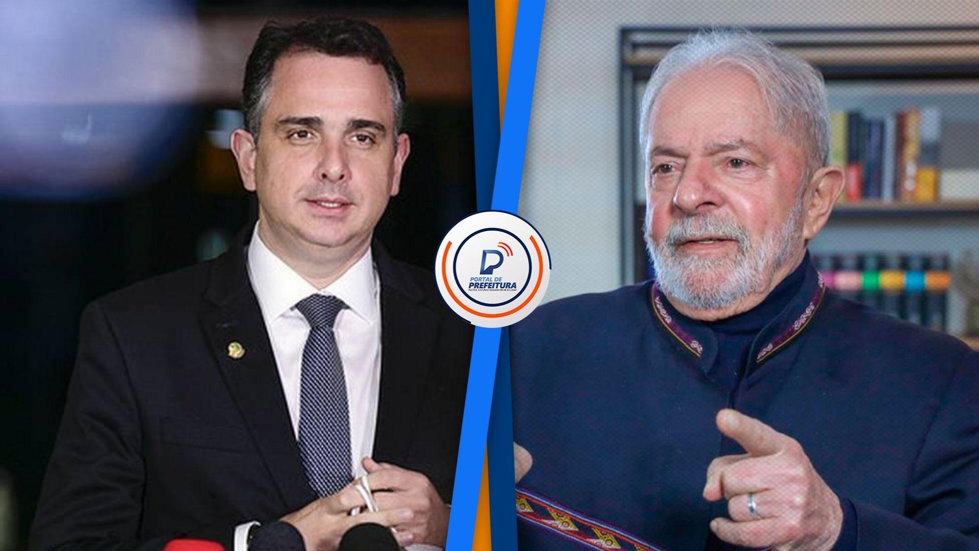 Membros do PT e Renan Calheiros articulam para que Rodrigo Pacheco seja vice de Lula em 2022, diz jornal