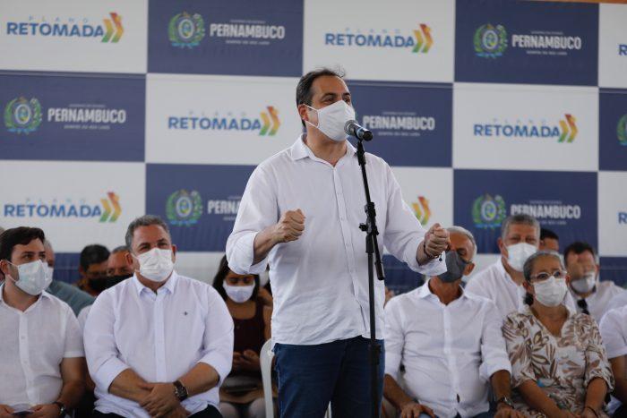 Governador Paulo Câmara autoriza requalificação da PE-045 em Vitória de Santo Antão