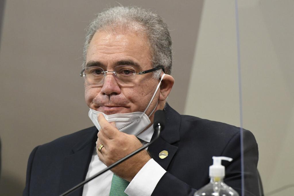 Marcelo Queiroga é convocado pela terceira vez para prestar depoimento na CPI da Pandemia