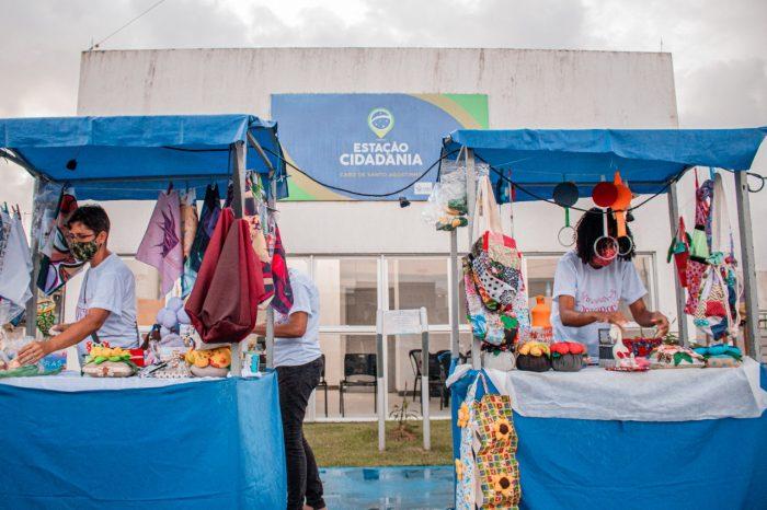 Cabo inicia Feira do Empreendedor com 60 barracas dos segmentos de alimentos, artesanato, comércios e serviço